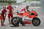 Die Ducati Desmosedici GP13 von