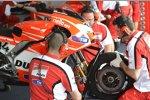 Die Ducati Desmosedici GP13 von Andrea Dovizioso