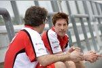 Nicky Hayden und Crewchief Juan Martines