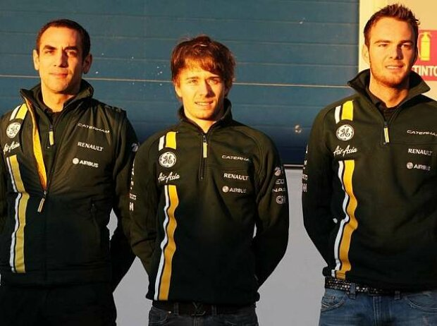Cyril Abiteboul, Charles Pic, Giedo van der Garde