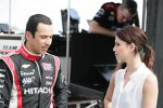 Helio Castroneves und Tanzpartnerin