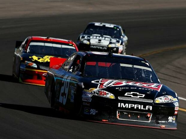 Kevin Harvick, Clint Bowyer, Jimmie Johnson