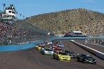 Start zum Nationwide-Rennen mit Kyle Busch und Brian Vickers (beide Gibbs) an der Spitze