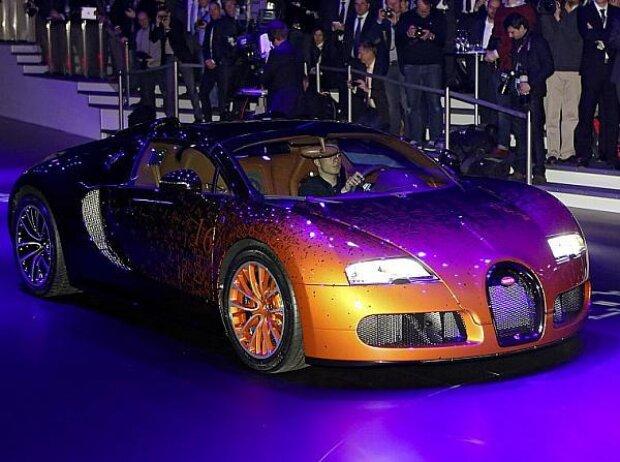 Volkswagen Konzernabend Genf 2013: Bugatti Venet