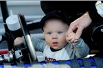 Keelan Harvick im Childress-Chevrolet von Papa Kevin