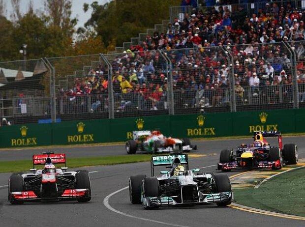 Nico Rosberg, Jenson Button