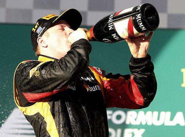 Kimi Räikkönen, Sekt, trinken