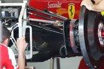 Bremsen des Ferrari F138
