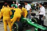 Sicherheitsübungen mit FIA-Chefarzt Ian Roberts