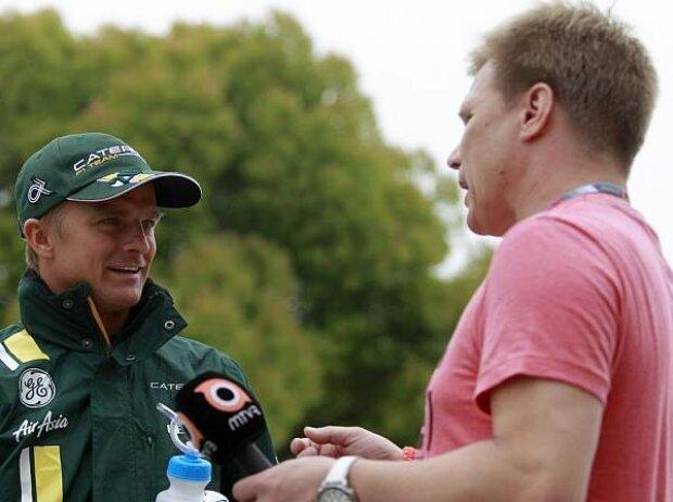 Mika Salo, Heikki Kovalainen
