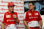 Fernando Alonso (Ferrari) bei Brembo