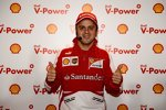 Felipe Massa (Ferrari) im Shell-Labor