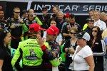 James Hinchcliffe (Andretti) und Marco Andretti (Andretti)