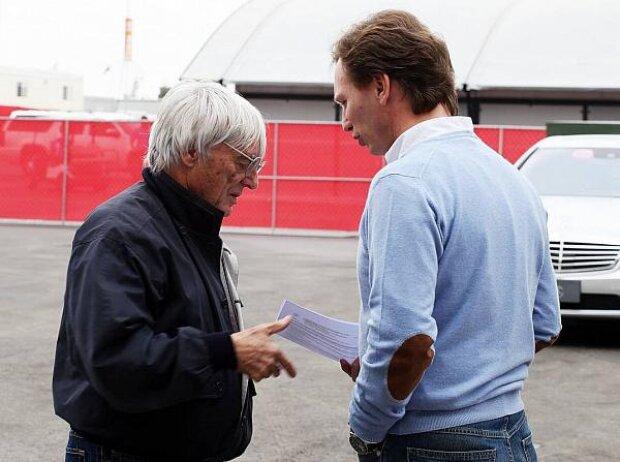 Bernie Ecclestone, Christian Horner