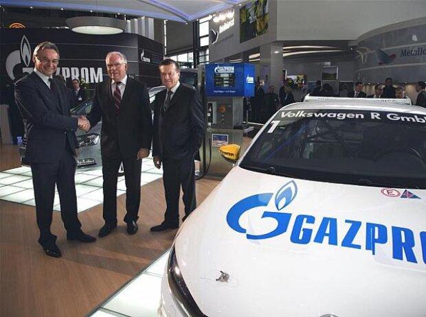 Wjatscheslaw Krupenkow, Dr. Ullrich Hackenberg, Wiktor Subkow