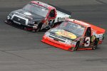 Trucks in Rockingham: Ty Dillon (3) und Darrell Wallace