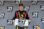 Trucks in Rockingham: Jeb Burton gewinnt