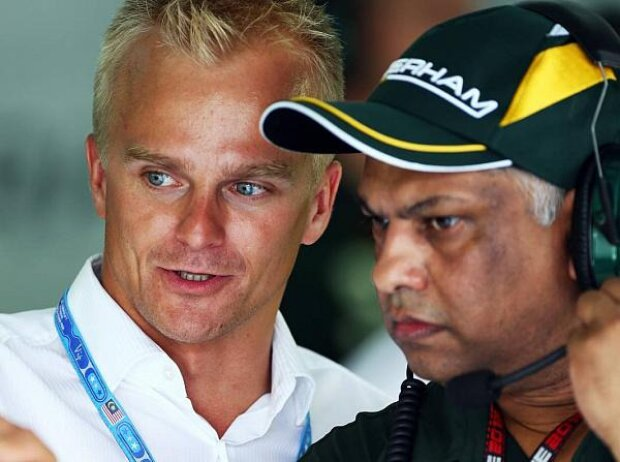 Heikki Kovalainen, Tony Fernandes