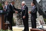 US-Präsident Barack Obama und Roger Penske