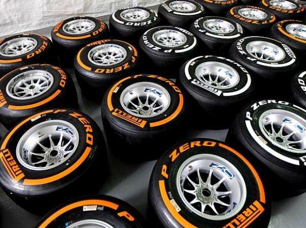 Die Pirelli-Mischungen Hard und Medium