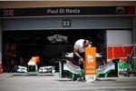 Die Box von Force India