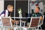 Finnen unter sich: Valtteri Bottas (Williams) und Heikki Kovalainen
