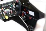 Cockpit des Sauber C32
