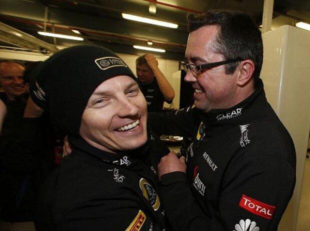 Kimi Räikkönen, Eric Boullier