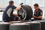 Pirelli-Reifen bei Red Bull