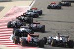Jean-Eric Vergne (Toro Rosso) und Valtteri Bottas (Williams)