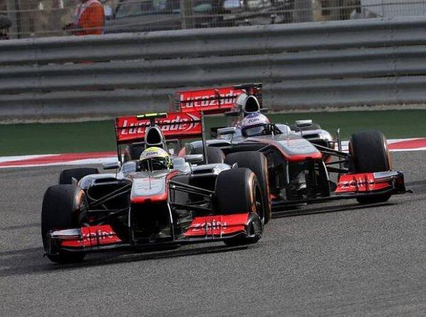 Sergio Perez, Jenson Button