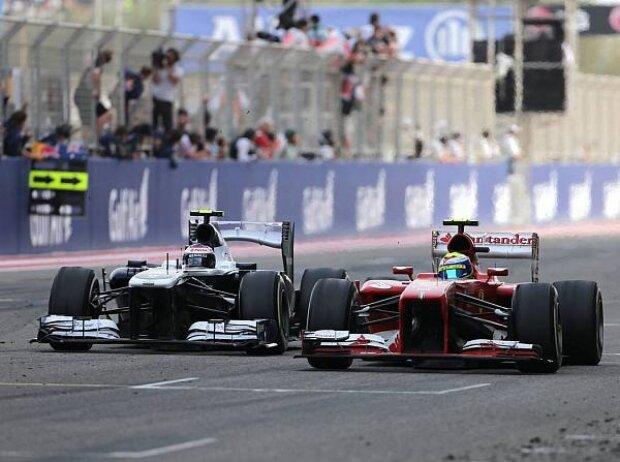 Valtteri Bottas, Felipe Massa