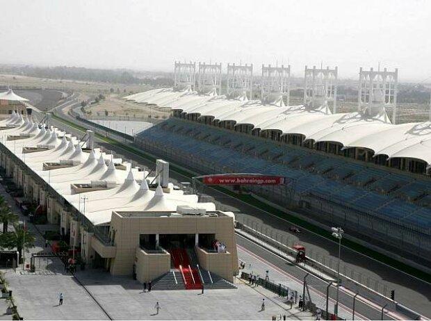Start- und Zielgerade in Manama