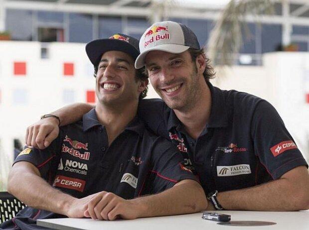 Daniel Ricciardo, Jean-Eric Vergne