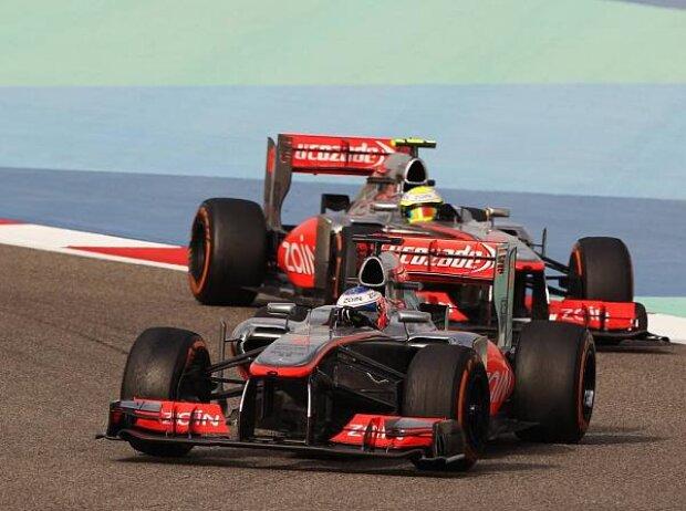 Jenson Button, Sergio Perez