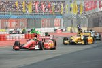 Tony Kanaan vor Ryan Hunter-Reay