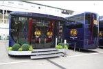 Das Motorhome der FIA