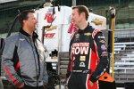 Michael Andretti und Kurt Busch