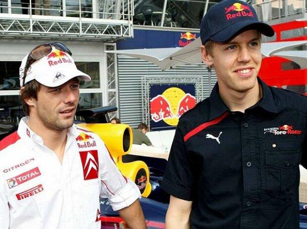Sebastian Vettel, Sebastien Loeb