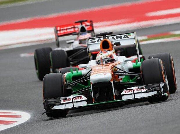 Paul di Resta, Jenson Button