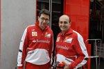Ferrari-Motorenchef Luca Marmorini (rechts)