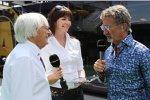 Bernie Ecclestone und Eddie Jordan