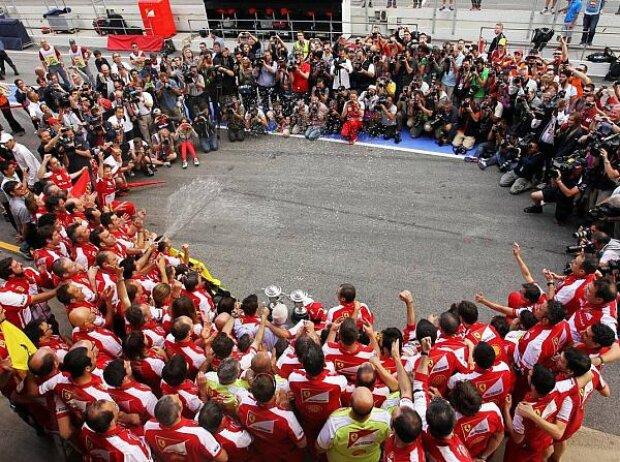 Ferrari-Team, Fernando Alonso, Felipe Massa