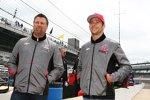 Michael und Marco Andretti