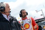Roger Penske und Helio Castroneves