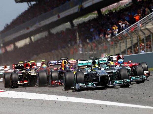 Nico Rosberg, Start