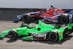 James Hinchcliffe und  Marco Andretti