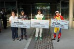 Ed Carpenter, Marco Andretti und Carlos Munoz