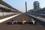 Die erste Startreihe zum 97. Indy 500