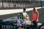 Ed Carpenter mit Familie